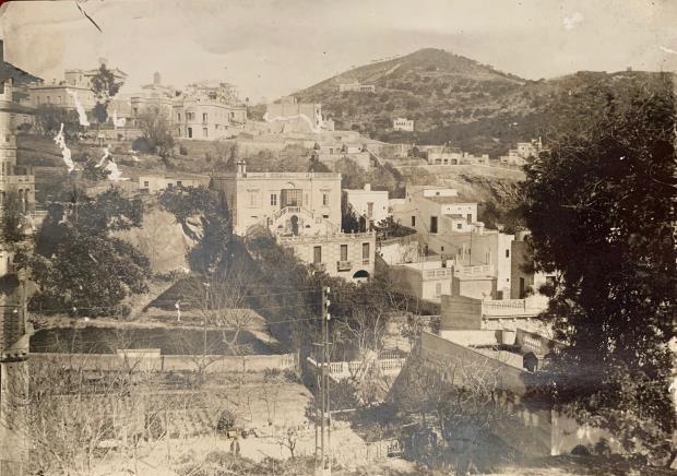 Vidal Ventosa. Vista de Vallcarca, 1905. Museu Nacional d'Art de Catalunya. Anvers