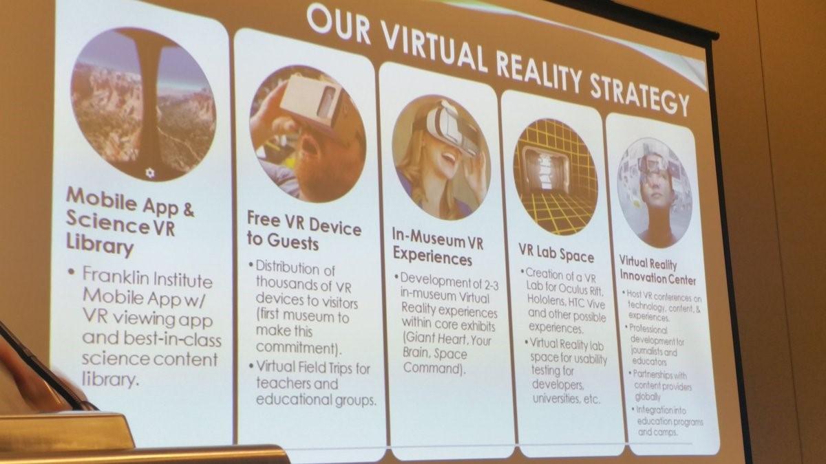 Estratègia de realitat virtual per l'Institut Franklin, presentada per Susan Poulton