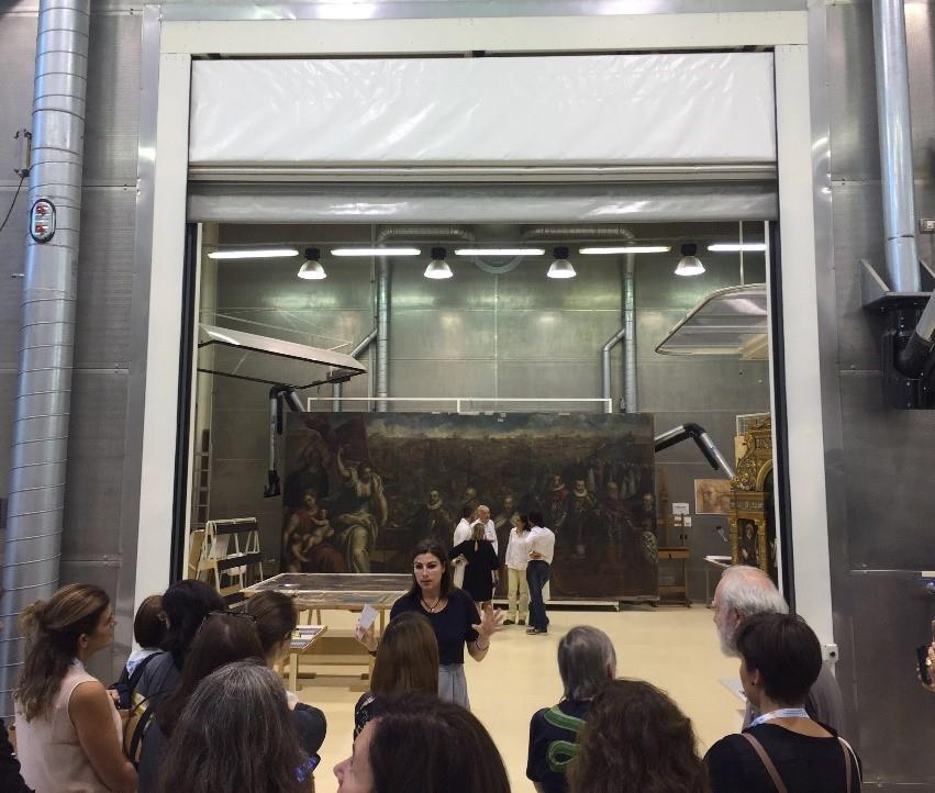 Visita técnica a los laboratorios del Centro Conservazione y Restauro La Venaria Reale