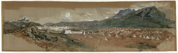 Vista de Tetuan, Marià Fortuny, 1860 ©Museu Nacional d'Art de Catalunya
