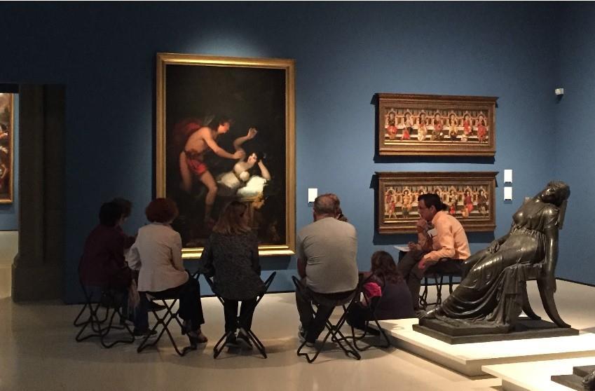 Actividad programada en las salas de la colección permanente