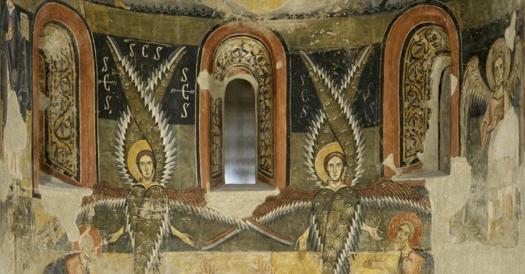 Absis de Santa Maria d'Àneu, Mestre de Pedret, finals del segle XI – inicis del segle XII