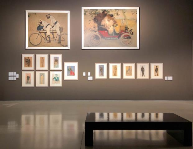Sala d'art modern del Museu Nacional