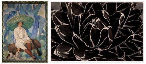 Marisa Roesset, Repòs, 1928 Emili Godes, Cactus, cap a 1930