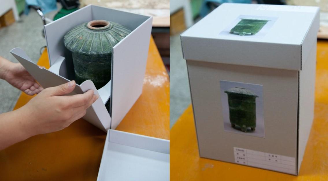 Capses d'emmagatzematge de ceràmica a la Xina