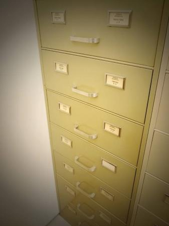 The filing cabinet of the biographical chronicle