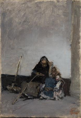 Marià Fortuny, Dos mendigas o Les méndiants, 1870-1872