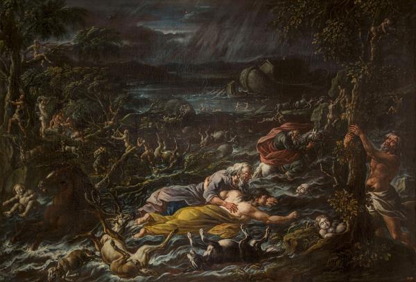 Cajetan Roos, El Diluvi Universal, cap a 1720