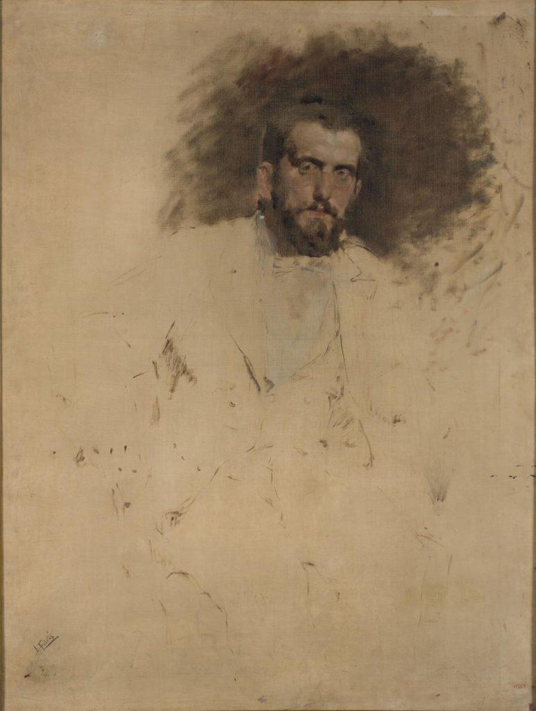 Antoni Fabrés. Esbós per a un retrat de Francesc Casanovas i Gorchs, 1892-1895