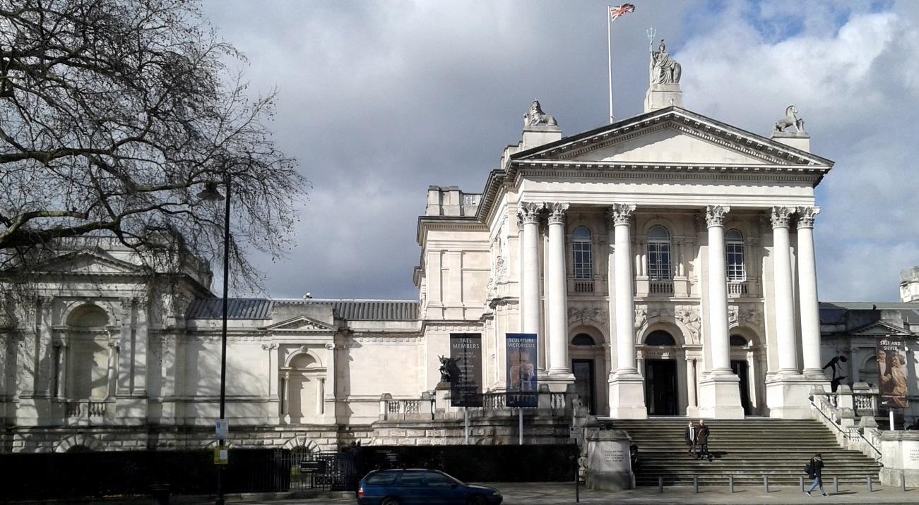 Fachada de la Tate Britain