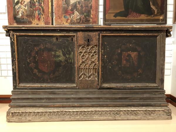 Faldó de la caixa núm. 4981. Museu Episcopal de Vic