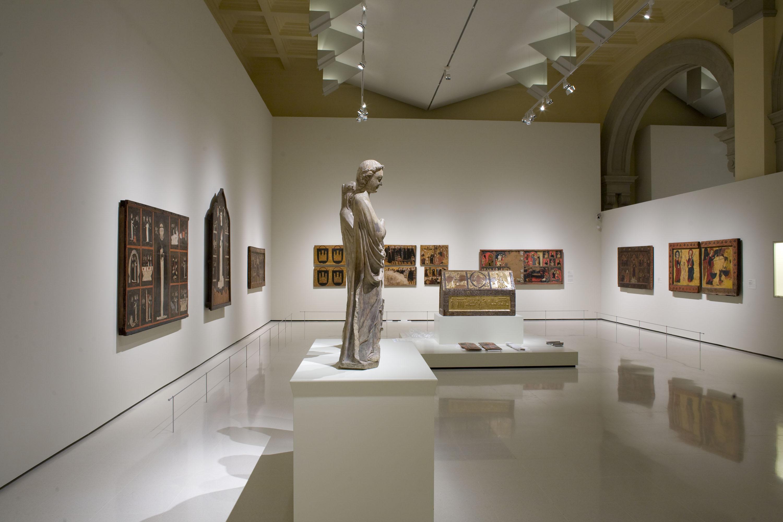 Gothic Art rooms of the Museu Nacional