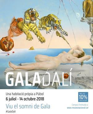 Gala Dalí Exposición MNAC