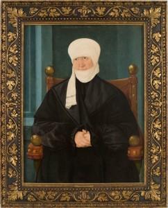 Hans Mielich. Retrat d'una dona de 57 anys