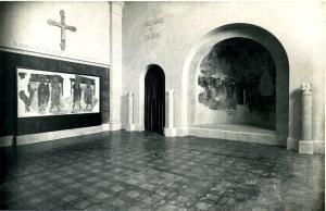 Instal·lació de l'Apostolat de Sant Romà de les Bons a la museografia de Folch i Torres l'any 1934