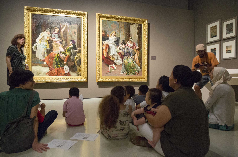 Activitats per a diferents públics al Museu Nacional