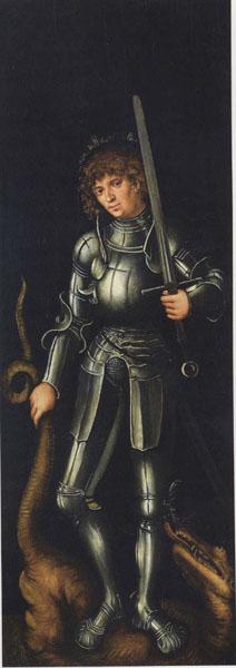 Lucas Cranach (el Vell), Sant Jordi, cap a 1514