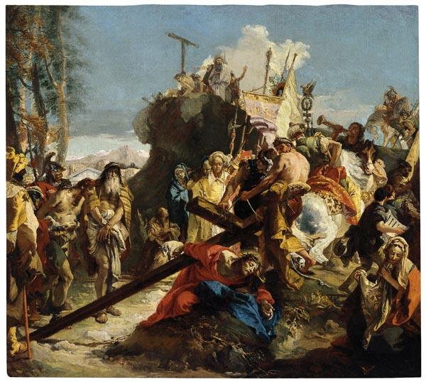 Giambatistta Tiepolo. Crist camí del Gòlgota, posterior a 1738