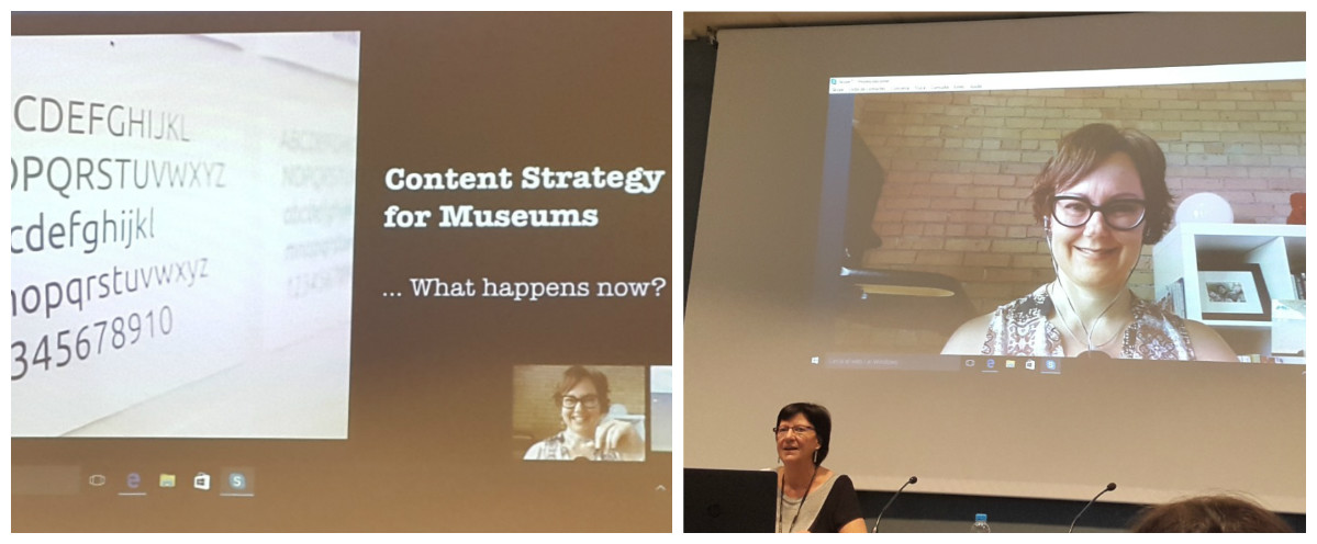 Presentació de la ponència de Kristina Halvorson