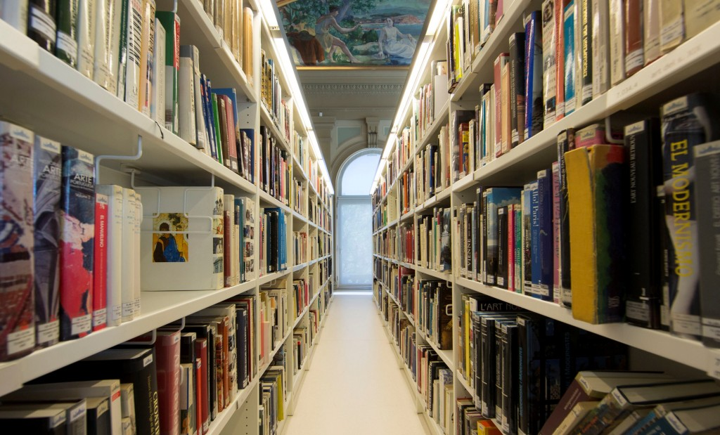 Museu Nacional d'Art de Catalunya Library. Photo: Marta Mérida