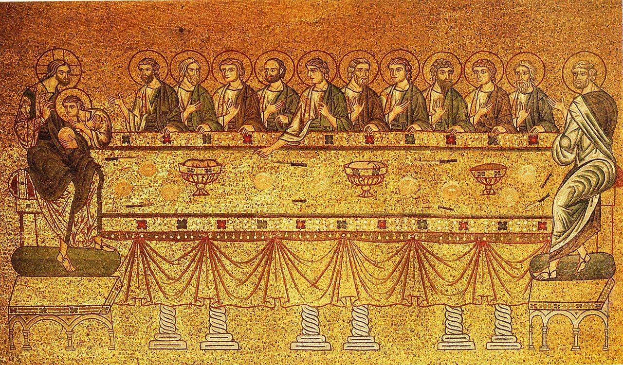 Mosaic de la basílica de Sant Marc, Venècia. Segle XIII. Font: Wikipedia