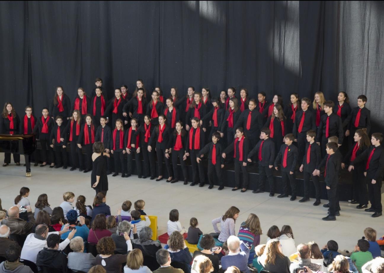 Un Nadal d'endevinalles, concert a càrrec de l'Escola Coral de l'Orfeó Català