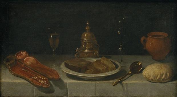 Juan van der Hamen, Still-life with Laid Table, c. 1620