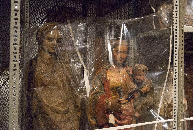 Obras instaladas en la exposición Francesc Torres. La caja entrópica [El museo de objetos perdidos]