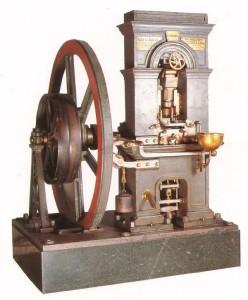 Prensa Thonnelier fabricada en La Maquinista Terrestre y Marítima en 1856. Foto: Museo Real Casa de la Moneda, Madrid