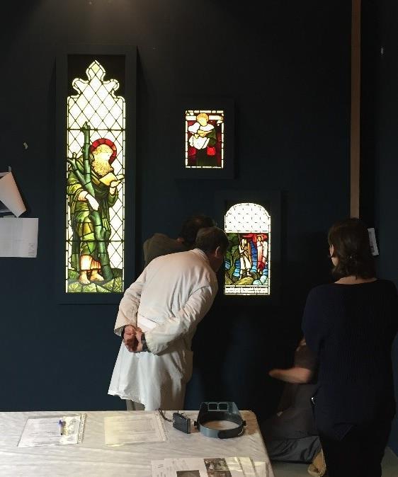 Revisió d'obres en préstec al Museu Nacional