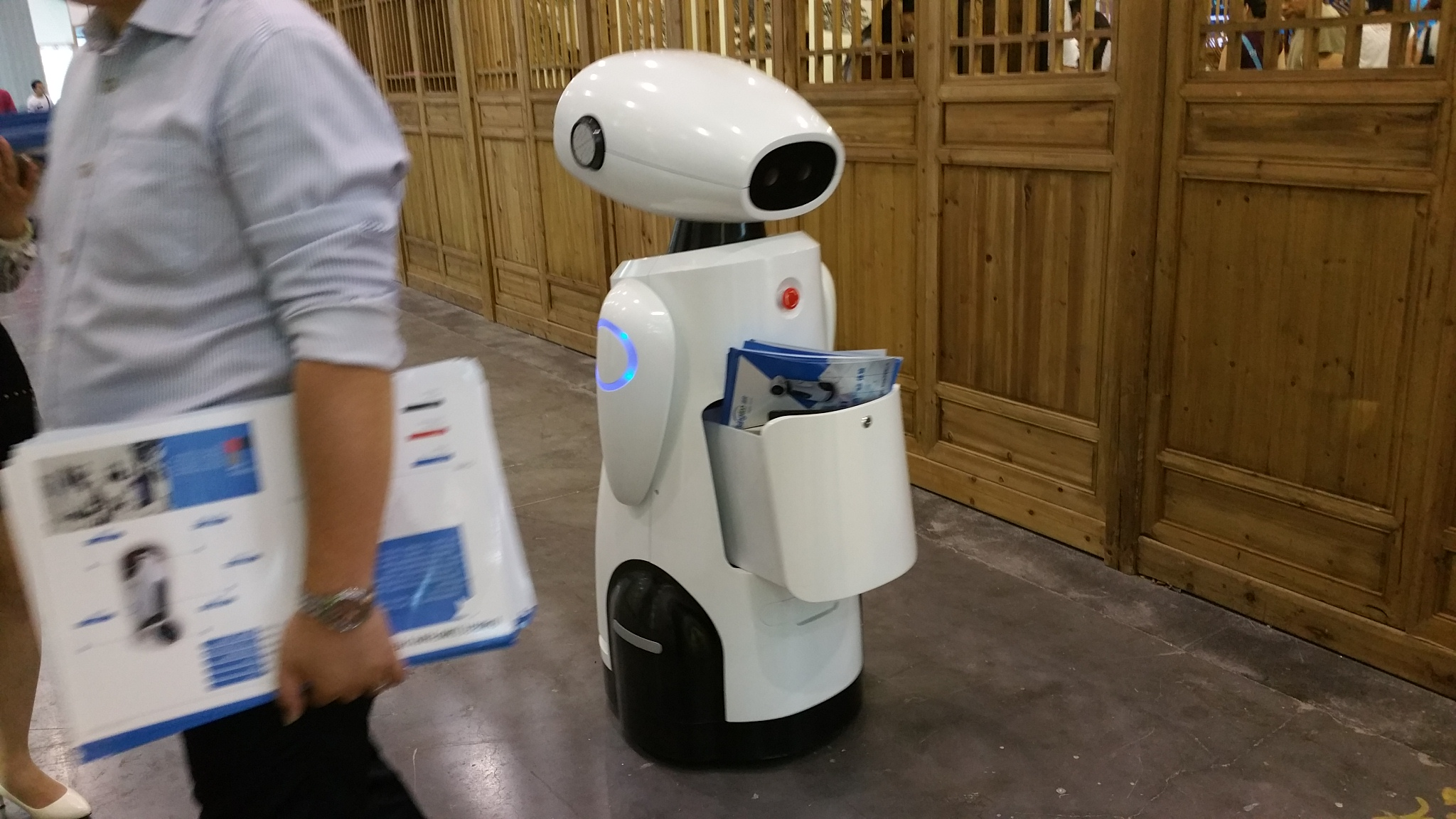 Robot-guia de museus. Chengdu