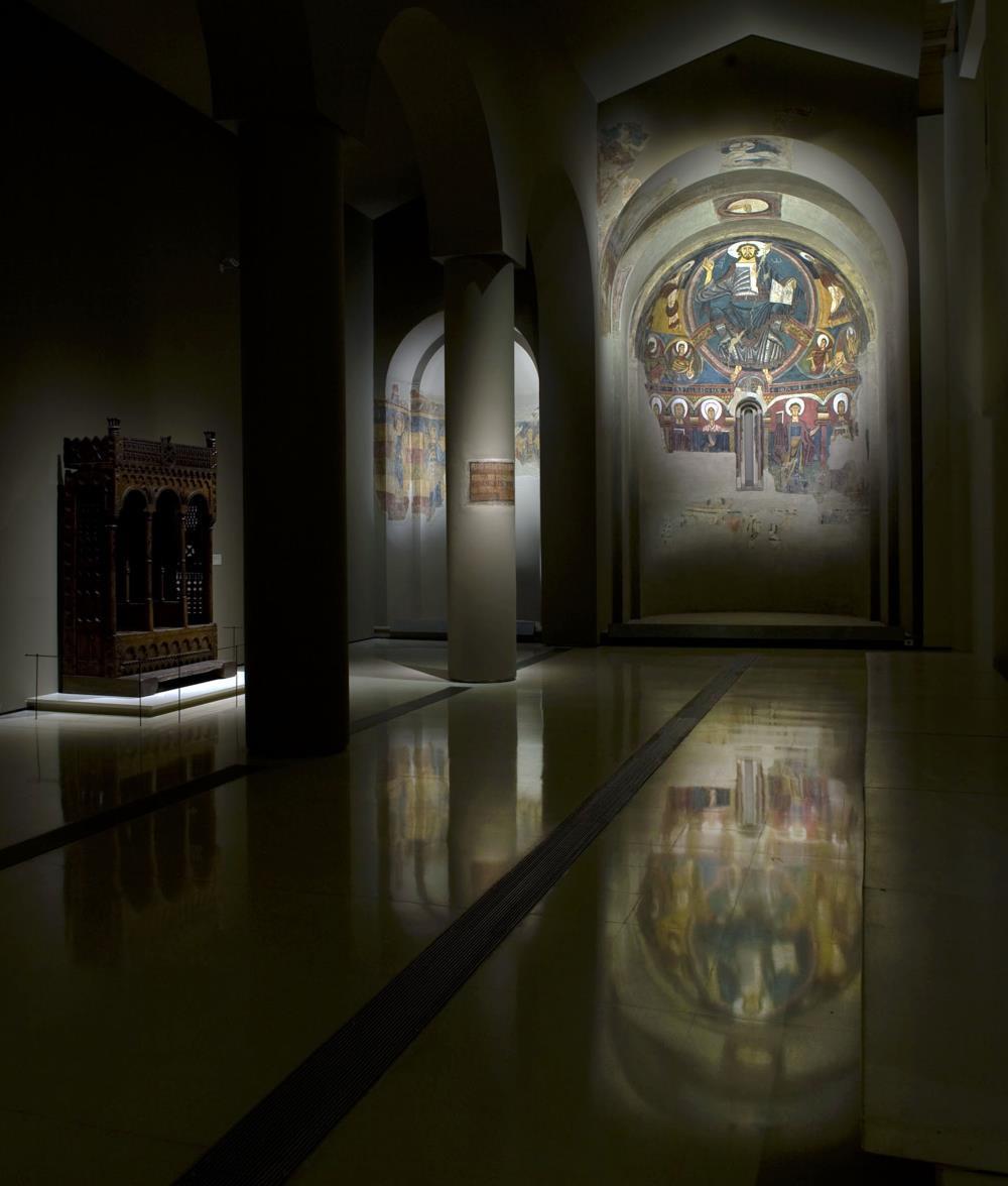 Salas de arte románico