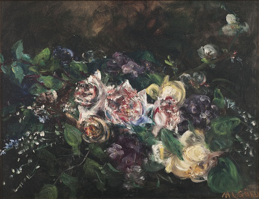 Maria Lluïsa Güell. Roses (c. 1921). Museu Nacional d'Art de Catalunya.