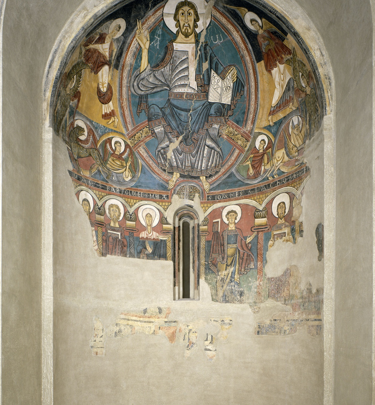 Master of Taüll, Apse of Sant Climent de Taüll, around 1123