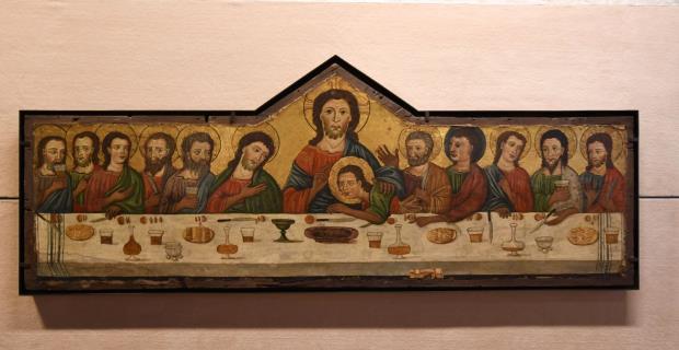 Taula florentina conservada al Museu del Petit Palau d'Avinyó. Font: Wikimedia Commons