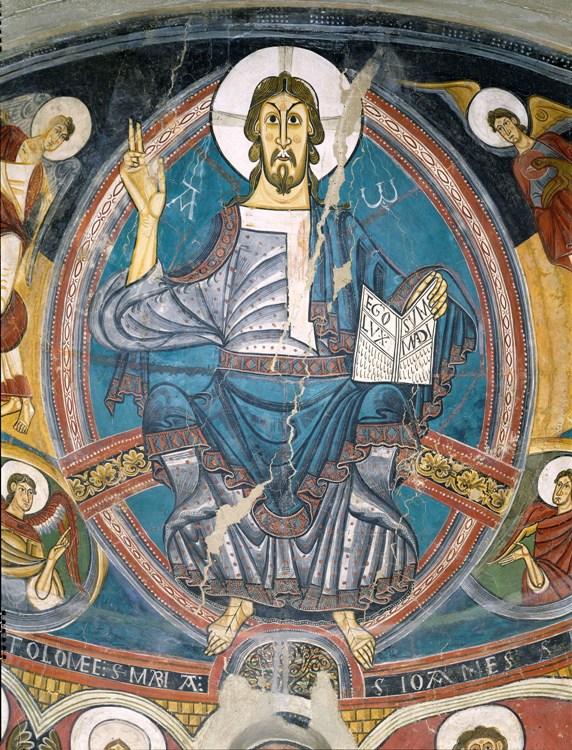 Absis de Sant Climent de Taüll, cap a 1123.