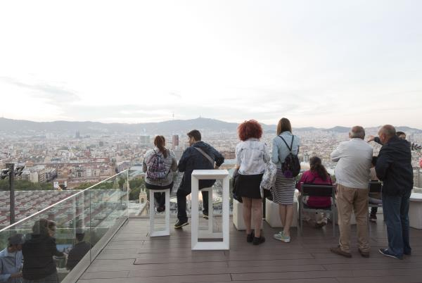 Terraces-viewpoint opening to the public, in 2013