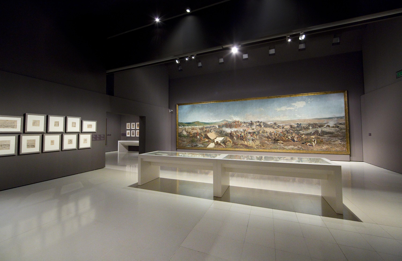 Blog del museu nacional d 39 art de catalunya museo m s - Iluminacion de pared ...