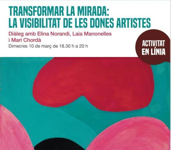 """Activitat """"Transformar la mirada: la visibilitat de les dones artistes"""","""