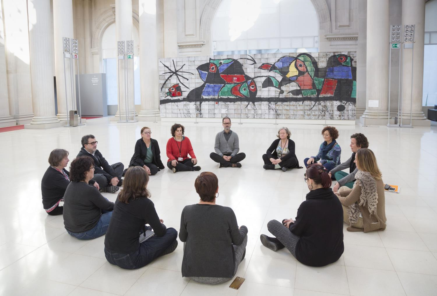 Mindfulness in the Museu Nacional
