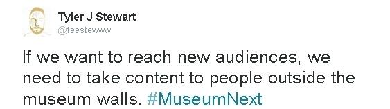"""""""Si queremos llegar a nuevos públicos, tenemos que llevar el contenido a la gente fuera de las paredes del museo"""""""