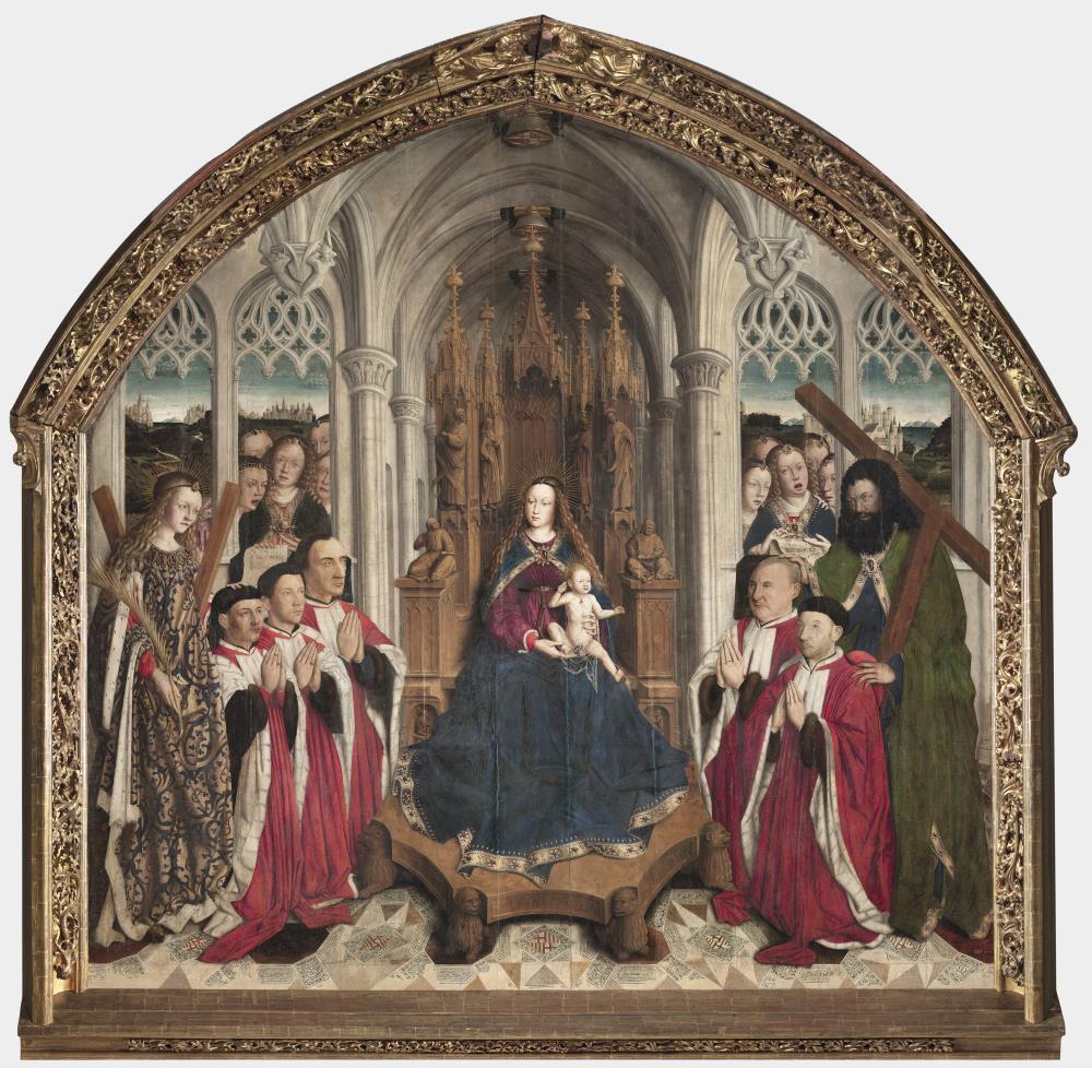 Lluís Dalmau, Mare de Déu dels Consellers, 1443-1445