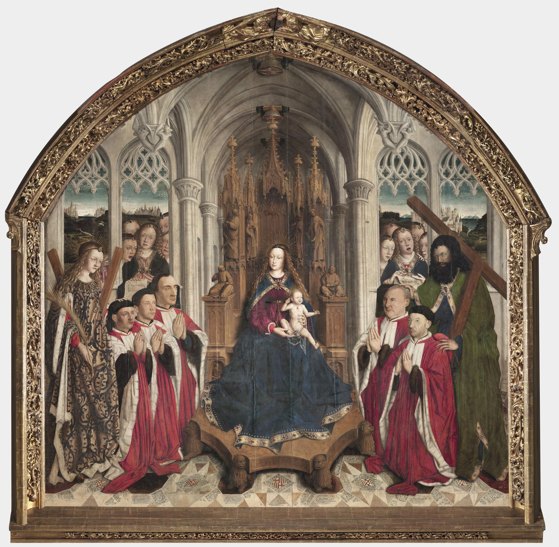 Lluís Dalmau, Virgen de los «Consellers», 1443-1445