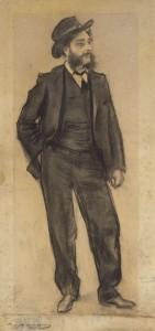 Ramon Casas. Retrat de Maurici Vilomara