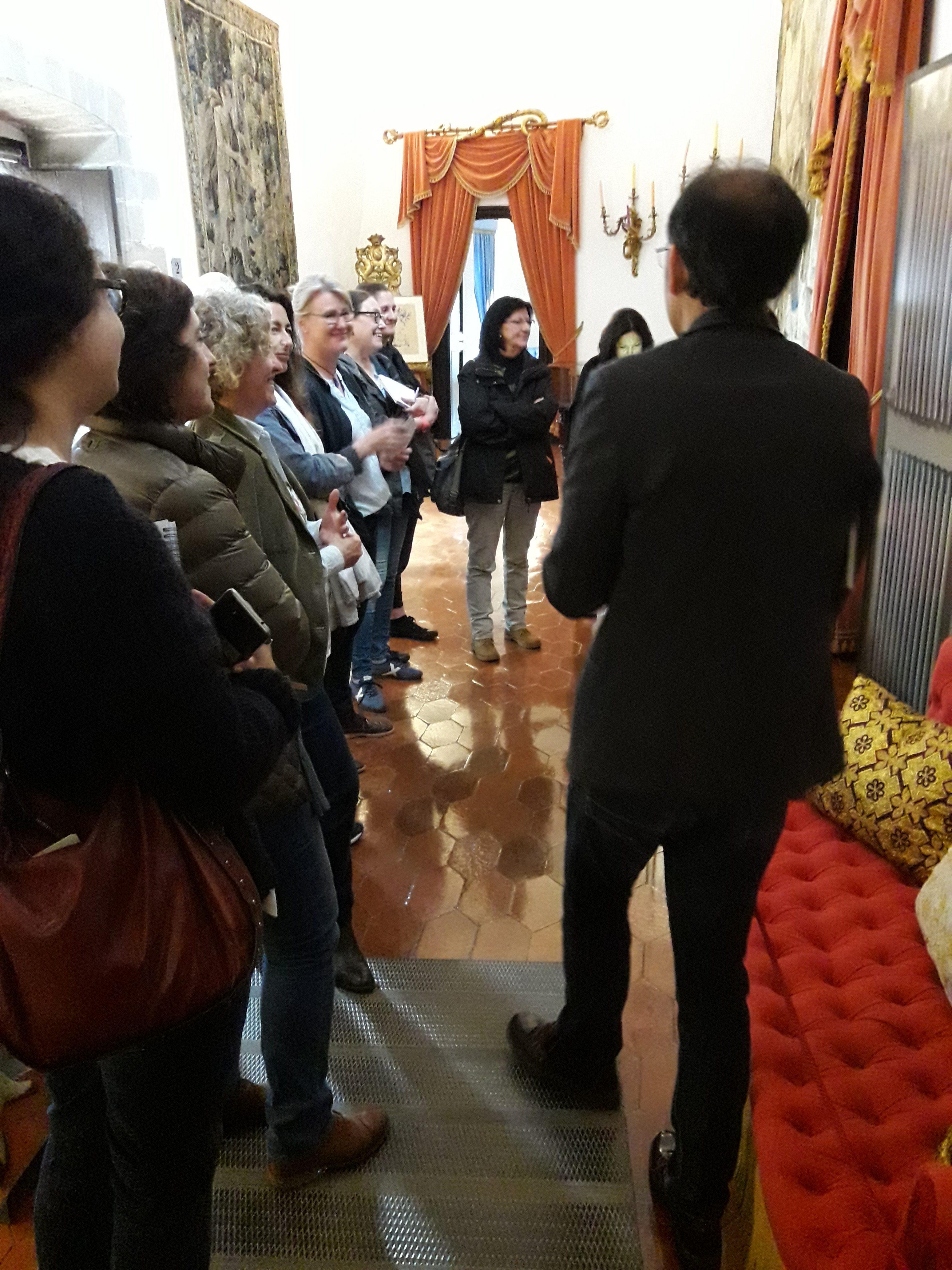 Image taken during the visit